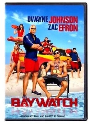 Baywatch (DVD 2017)NEW *Comedy, Action* PRE-ORDER SHIPS ON 08/29/17
