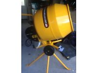 Belle Minimix 130 cement mixer 230v never been used !