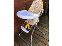 John Lewis high chair used but good condition £10
