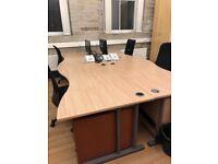 Large office desks