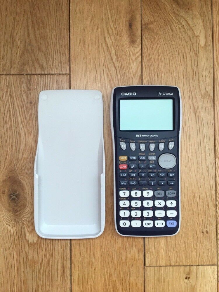 CASIO Graphing Calculator fx-9750GII   in Glenfield, Leicestershire    Gumtree