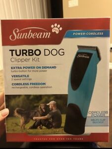Cordless dog clippers