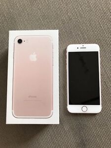 LIKE NEW APPLE IPHONE 7 32GB ROSE GOLD UNLOCKED QUICK SALE Liverpool Liverpool Area Preview