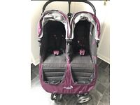 Double baby jogger city mini buggy £220 ovno