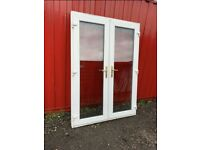 Upvc French patio doors man cave shed summerhouse home office gym bar hot tub room doors 1500mm