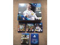 PS4 + GTAV + FIFA18 + Farcry + Call of Duty Infinite Warefare