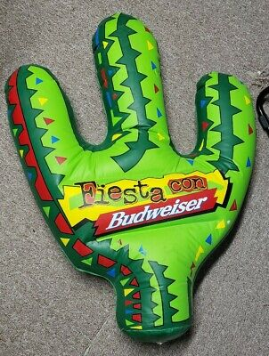 Blow Up Cactus (Budweiser INFLATABLE cactus fiesta con blow up ad)