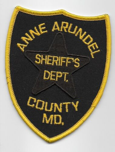 Anne Arundel County Sheriff State Maryland MD Older