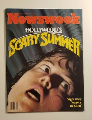 Newsweek Hollywood's Scary Summer Alien Sigourney Weaver NO LABEL JUNE 1979