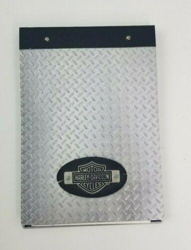 Harley Davidson Metal Steel Clipboard Notepad Tablet Organizer Motorcycles