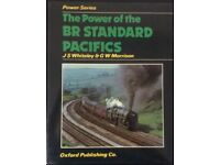 RAILWAY BOOK. THE POWER OF THE BR STANDARD PACIFICS BY J S WHITELEY AND G W MORRISON FOR SALE