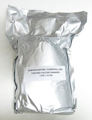 Wholesale Carophyll Red 10% Canthaxanthin Powder For Red Factor Canaries 2.2 LBS