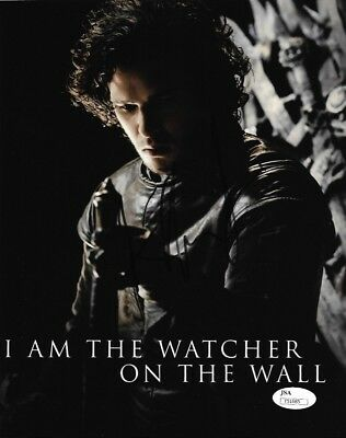 Kit Harington Game Of Thrones Autographed Signed 8X10 Photo Jsa Coa  J8