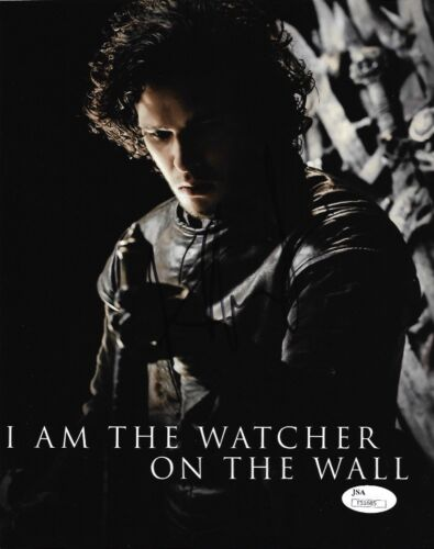 Kit Harington Game of Thrones Autographed Signed 8x10 Photo JSA COA #J8