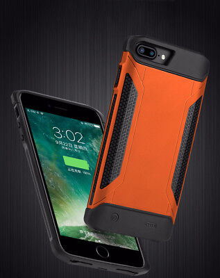 External Power Bank Battery Pack Charger Armor Case for iPhone 6s 7 8 plus (Power Plus Battery Pack)