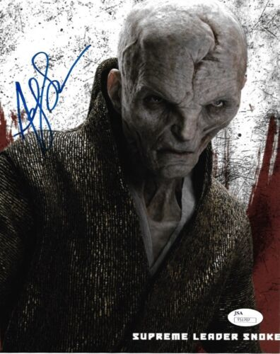 Andy Serkis Star Wars Autographed Signed 8x10 Photo JSA COA #S5