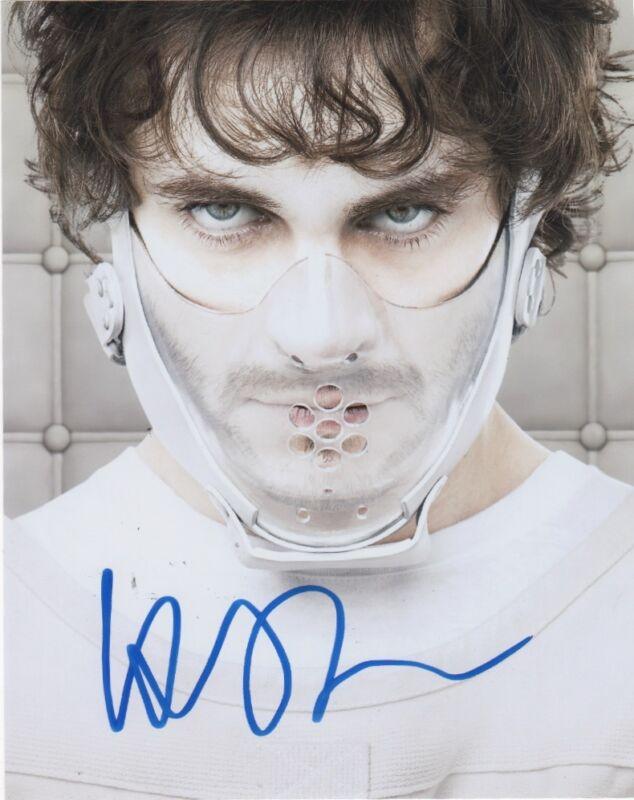 Hugh Dancy Hannibal Autographed Signed 8x10 Photo COA