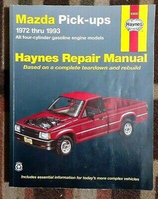 Haynes Mazda Trucks All 4-Clinder Gasoline Engines 1972-1993 Repair Manual