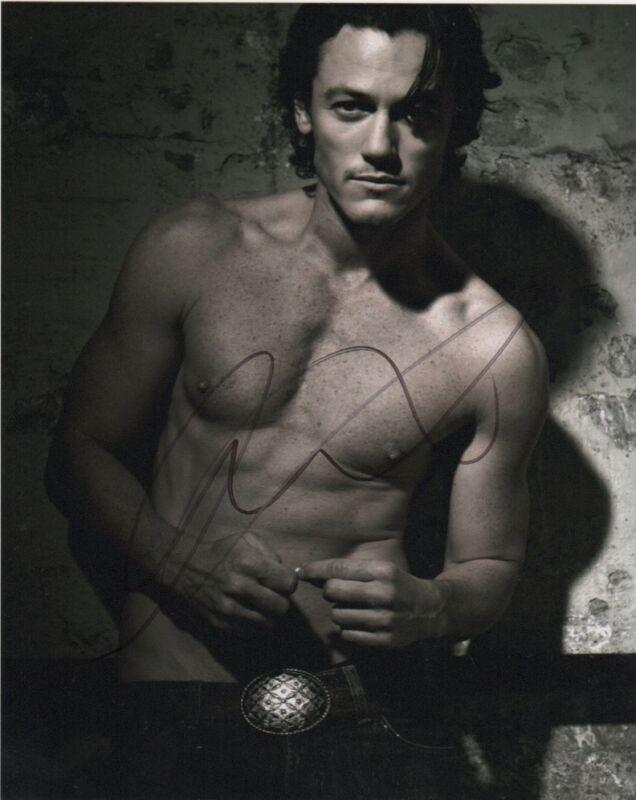 Luke Evans Autographed Signed 8x10 Photo COA