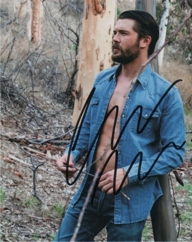 Charlie Weber How to Get Away with Murder Autographed Signed 8x10 Photo COA #7
