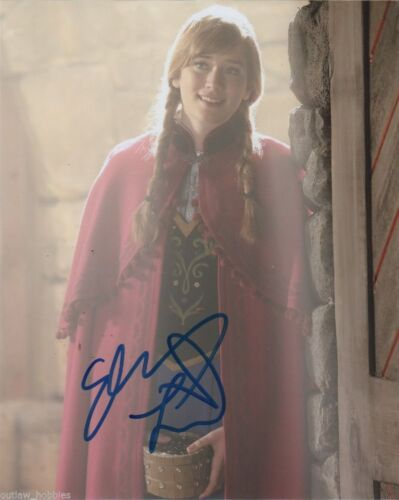 Elizabeth Lail Once Upon A Time Autographed Signed 8x10 Photo COA #7