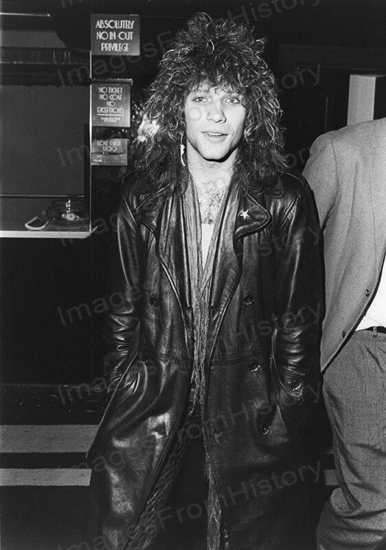 8x10 Print Jon Bon Jovi Candid #JBJ