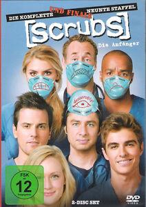 Scrubs: Die Anfänger - Die komplette 9. Staffel                      | DVD | 101