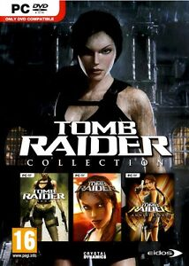TOMB RAIDER UNDERWORLD + LEGEND and ANNIVERSARY COLLECTION (PC DVD-ROM) NEW