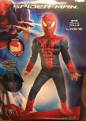 Spider-Man Light-Up Costume Boy L(10-12)