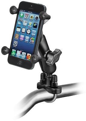 RAM Mount Motorcycle Handlebar Mount w/ X-Grip Cell Phone Holder RAM-B-149Z-UN7U Mount W/ X-grip