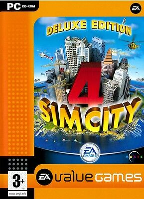 Simcity 4 Deluxe Edition Pc Sim City Brand New Factory Sealed