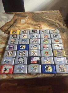Nintendo 64 jeux