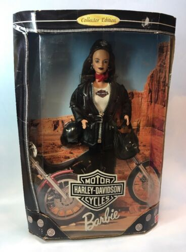 Harley-Davidson Barbie 1998 First in a Collector Series brunette Teresa face #1