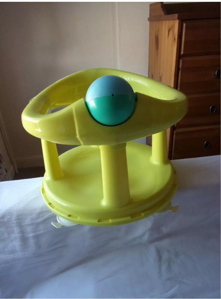 Safety 1st baby swivel bath seat lime green