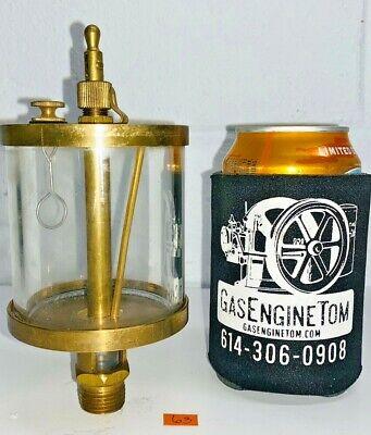 Brass Cylinder Oiler Hit Miss Gas Engine Steampunk Vintage Antique Essex Style