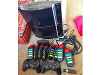 SONY PS3 WIRELESS BUNDLE PACK - EXCELLENT WORKING CONDITION - £95 ONO FOR EVERYTHING