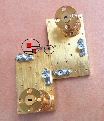 1 Anritsu 60.5-91.9ghz R740 Bj-740 Waveguide Interface Rf Microwave Mixer