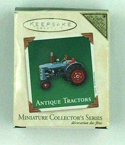 2003 Hallmark Miniature Repaint Ornament, Antique Tractor, NIB, free shipping