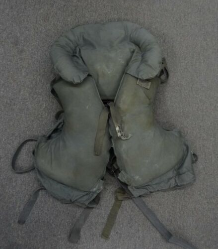 US NAVY GRAY KAPOK LIFE VEST - 1959 DATED - #EQ2081