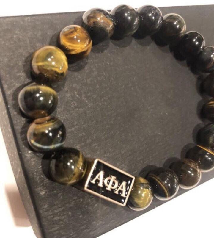 Alpha Phi Alpha Beaded Bracelet