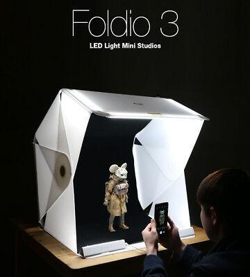 Foldio 3 Foldable All-in-one Mini Studio LED Light Box for Smartphone Photograph