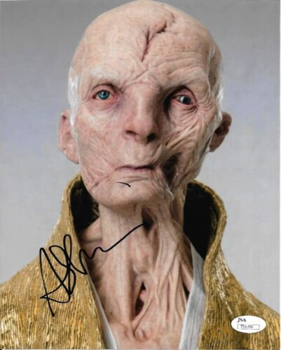 Andy Serkis Star Wars Autographed Signed 8x10 Photo JSA COA #S13
