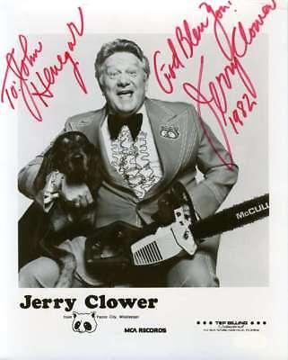 JERRY CLOWER JSA COA Hand Signed 8x10 Photo Autograph Authenticated