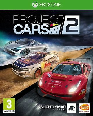 PROJECT CARS 2 XBOX ONE VIDEO GAME usato  Spedire a Italy