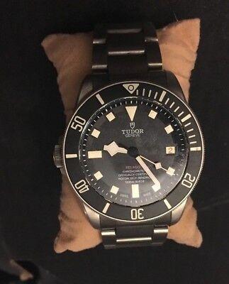 Tudor Pelagos LHD Titanium Rolex Watch Submariner Sea Dweller Ceramic Bushed