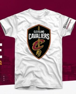 Cleveland Cavaliers 2017 2018  Opening Night T Shirt 10 17 17