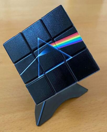 Pink Floyd Rubiks Cube, presentation box and display plinth. Brand New, sealed.
