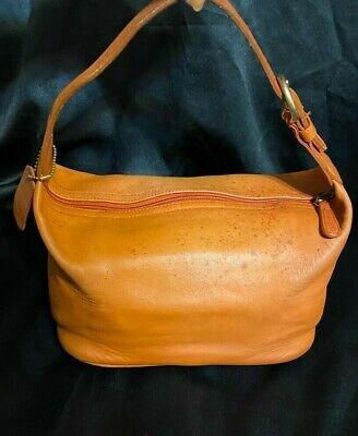 Rare Vintage COACH Small Orange Soho BAG HANDBAG USA 4145