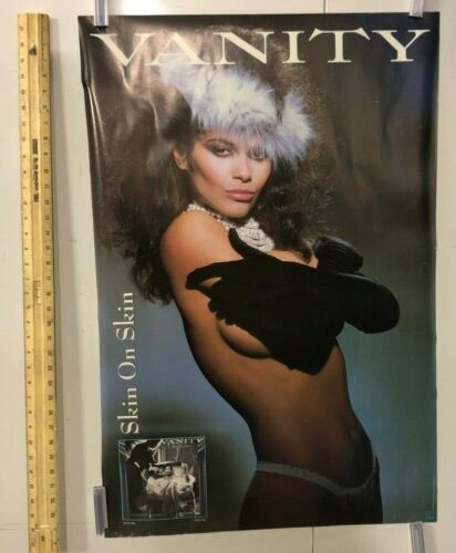 HUGE SUBWAY POSTER Vanity Skin On Skin Double Sided Motown Records R&B Music