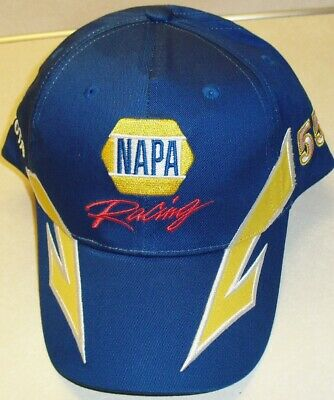 Michael Waltrip NAPA Racing 90s Adjustable Strapback hat  Nascar (BRAND NEW)
